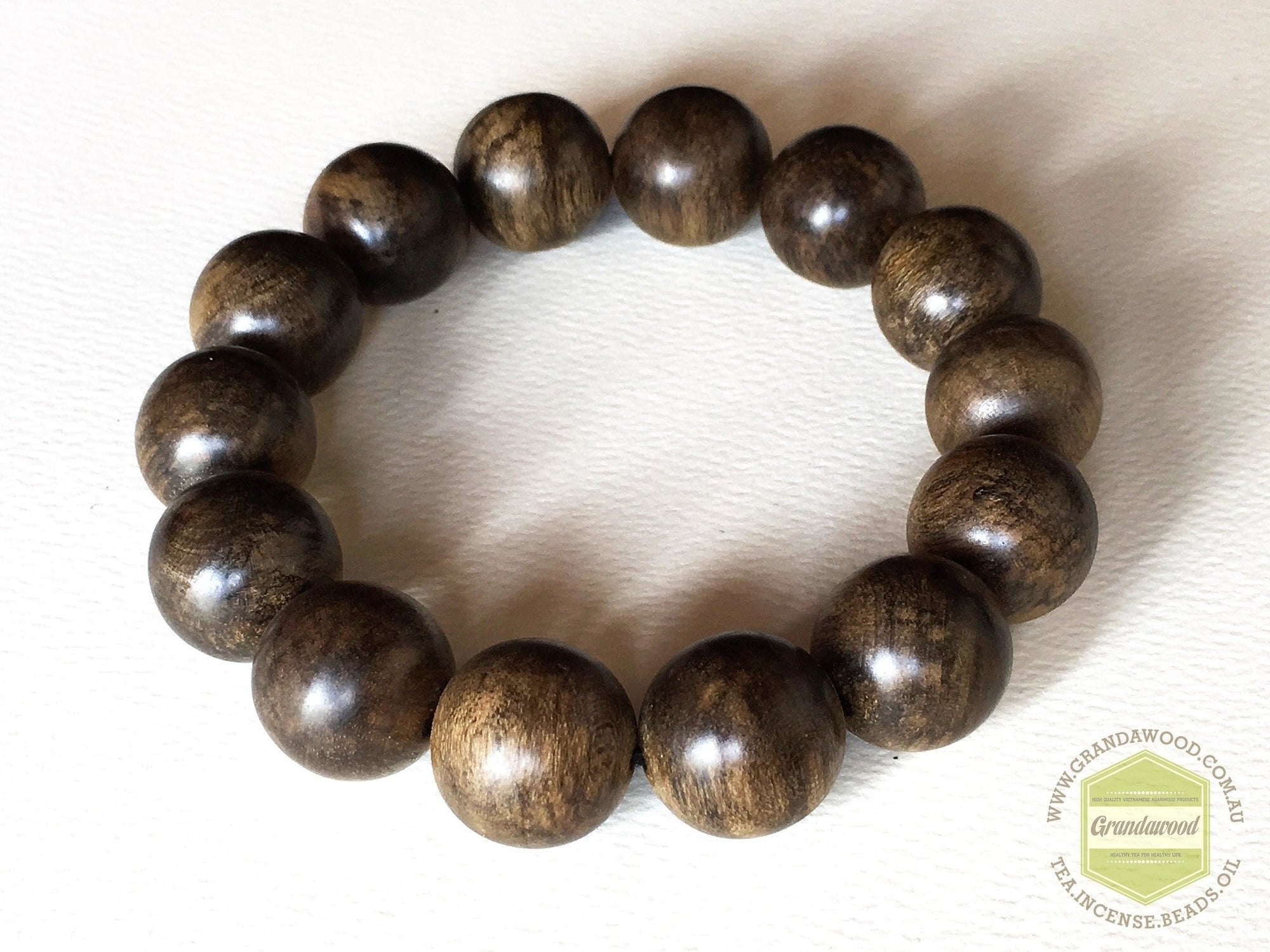 Beads The Fortunate Charm-Indonesia Borneo Wild Dark Bracelet circa 27g
