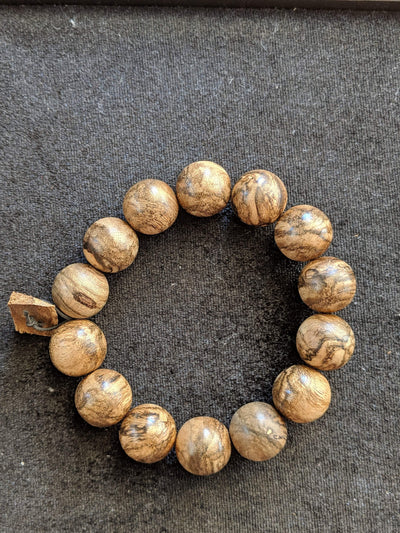 Beads The Marble Trilogy - Wild Borneo Agarwood Bracelet - Number 2, and Number 3