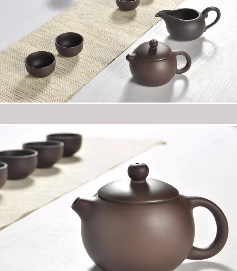Ceramic Kung Fu Tea Set with Gaiwan Teapot and cup
