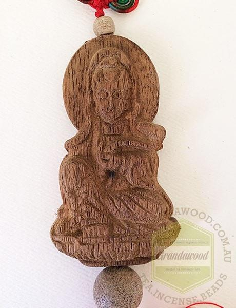 Guan Yin B Car Decor Agarwood - Grandawood- Agarwood Australia
