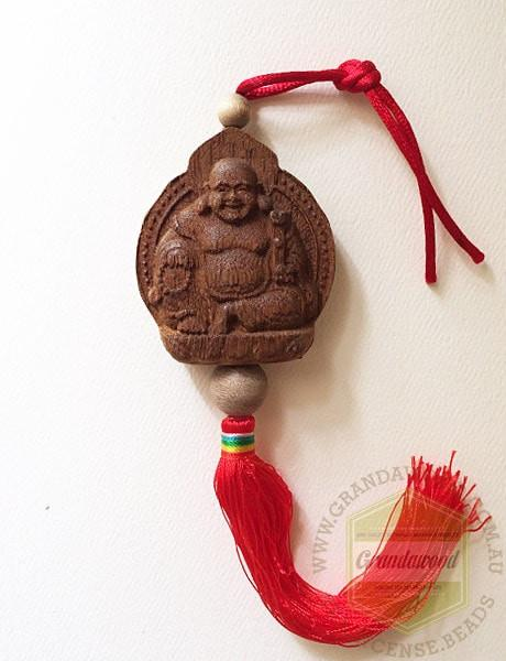 Mi Le Happy Buddha Car Decor - Grandawood- Agarwood Australia