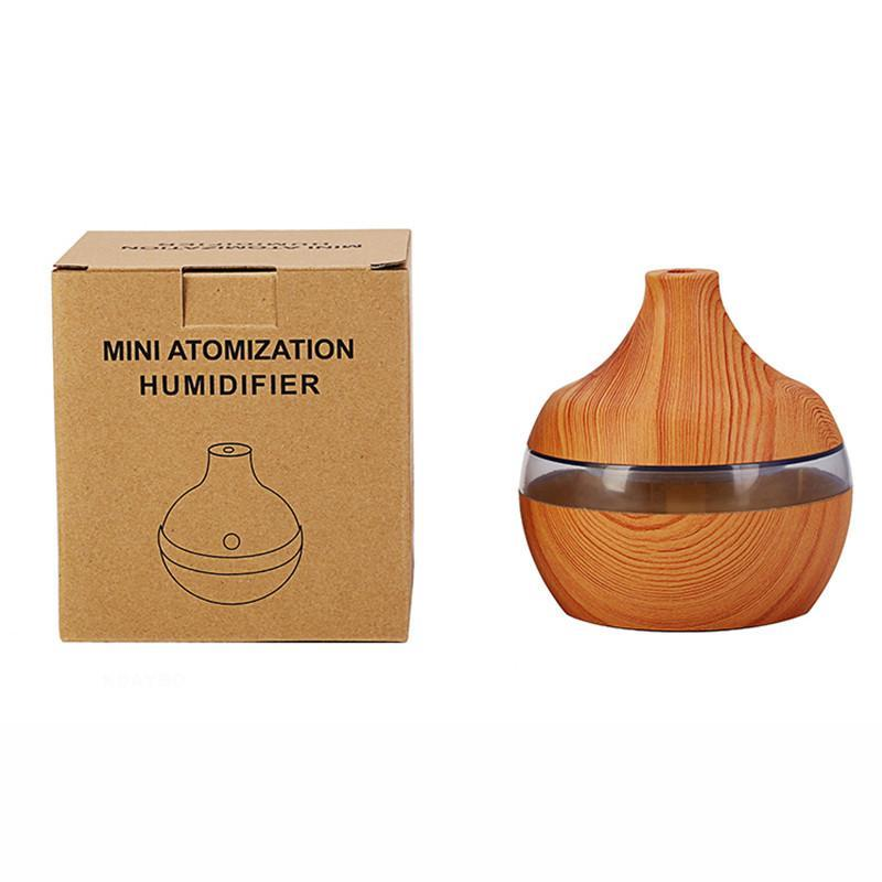 diffuser Default Title 300ml USB Aroma Diffuser 7 Color LED Lights