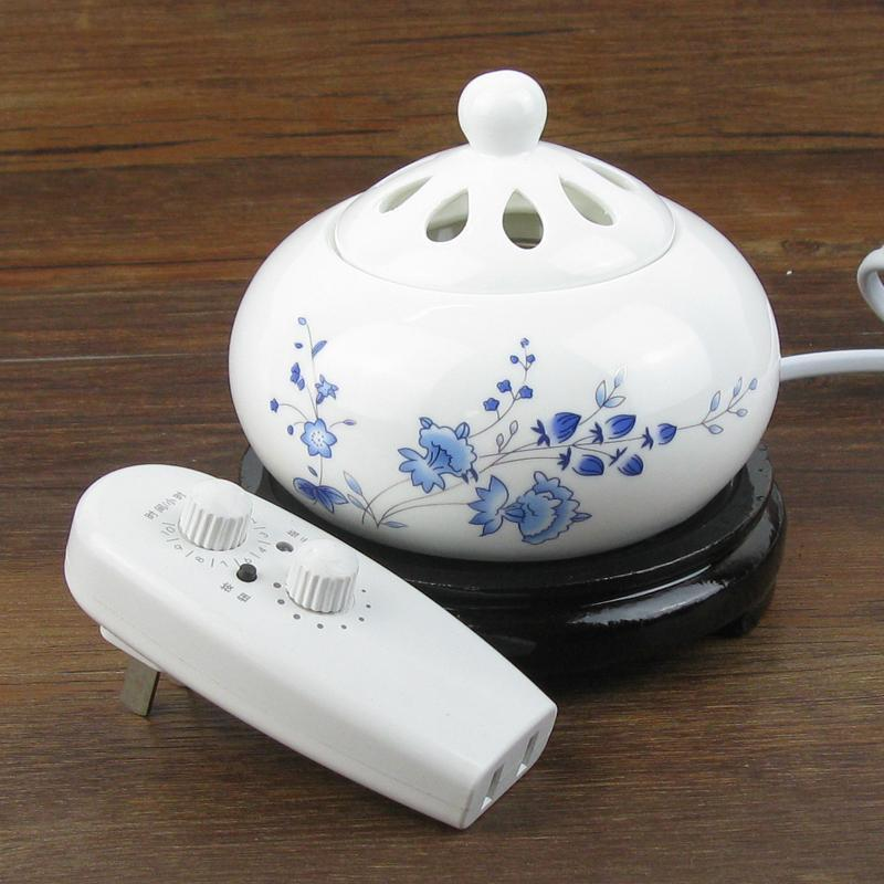 Electronic Incense Burner,  featuring with adjustable timer and temperature