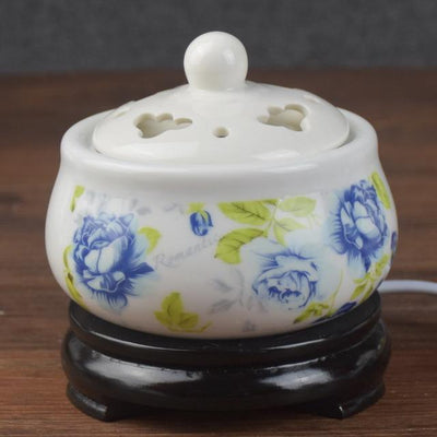 Incense accessories 17 Thermostat Electronic  Ceramic Incense Heater 110V-240V with timing function