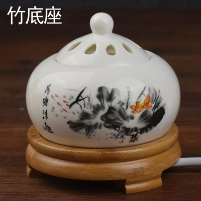 Incense accessories 2 Thermostat Electronic  Ceramic Incense Heater 110V-240V with timing function