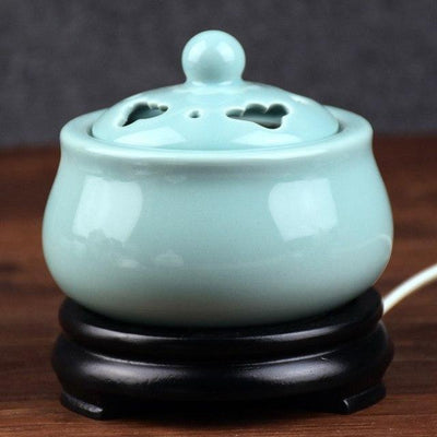 Incense accessories 5 Thermostat Electronic  Ceramic Incense Heater 110V-240V with timing function