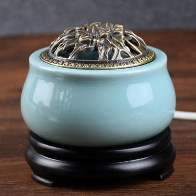 Incense accessories 6 Thermostat Electronic  Ceramic Incense Heater 110V-240V with timing function