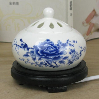 Incense accessories 8 Thermostat Electronic  Ceramic Incense Heater 110V-240V with timing function