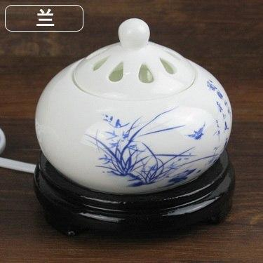 Incense accessories Thermostat Electronic  Ceramic Incense Heater 110V-240V with timing function