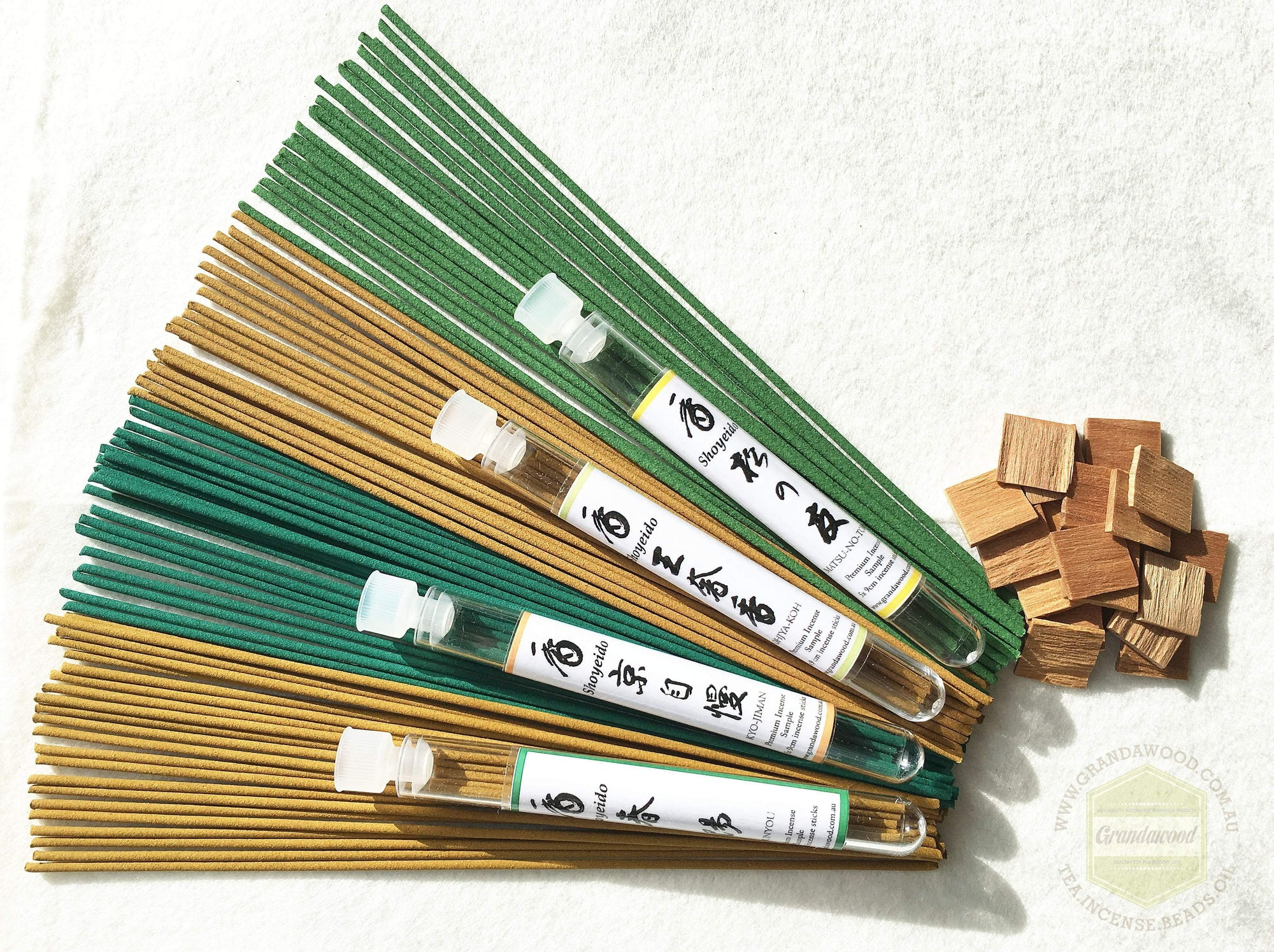 Incense Shoyeido Premium Sandalwood Incenses sample set