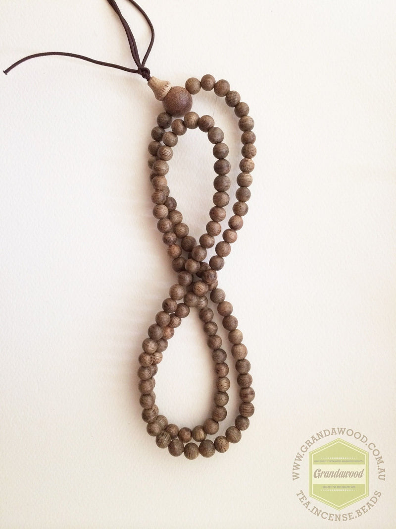 Mala beads Malaysia Cultivated Agarwood Mala 108 beads 6mm