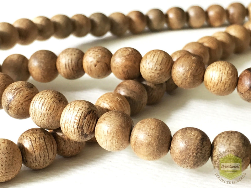 Mala beads Malaysian Cultivated Agarwood Mala 108 beads 9mm Selected *