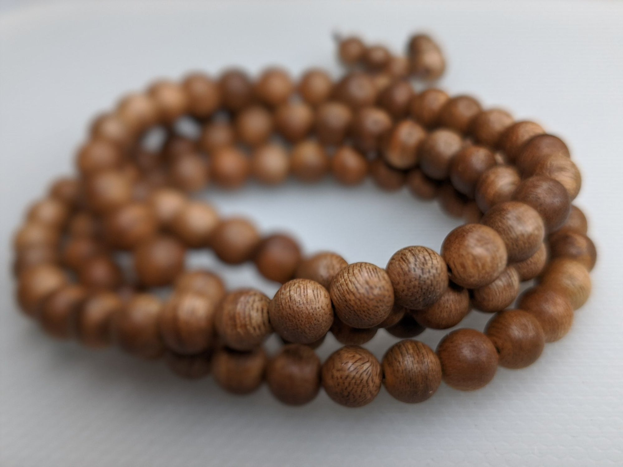 *New* The Golden Purifier 108 Cultivated Agarwood Mala (Japamala) - Grandawood- Agarwood Australia