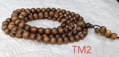 *New* The Twin: Wild Agarwood 108 mala 14g 7mm - Grandawood- Agarwood Australia