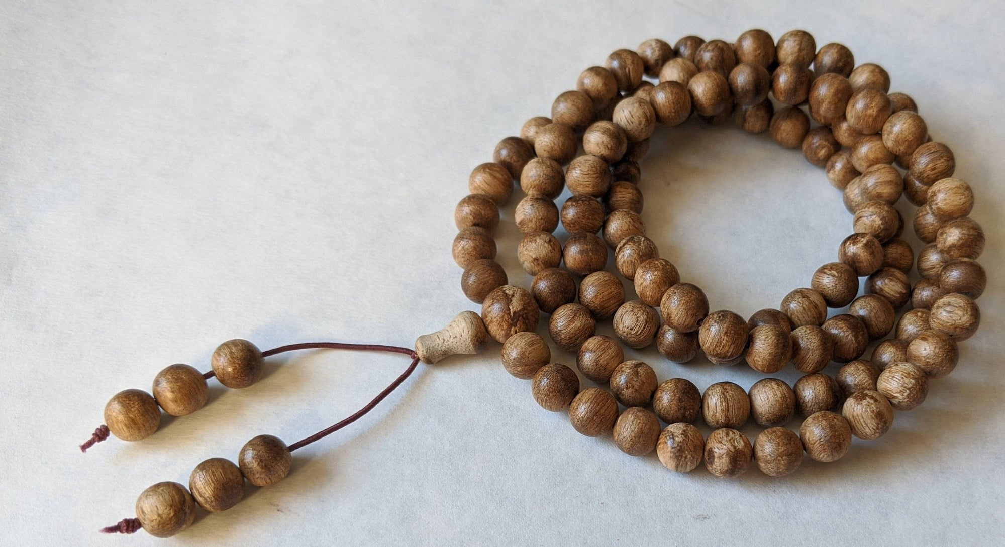 Mala beads *New* WAB Wild 108 Mala Agarwood Borneo region 8mm 19g