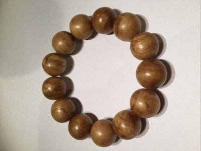 Mala beads SOLD- Agarwood natural prayer bracelet 13 beads - young-Indonesia 沉香