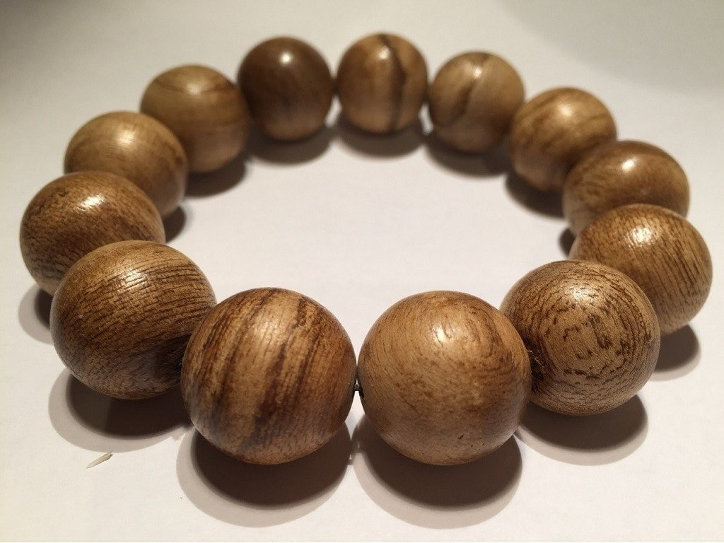 SOLD- Agarwood natural prayer bracelet 13 beads young-Indonesia 沉香 sn002 - Grandawood- Agarwood Australia