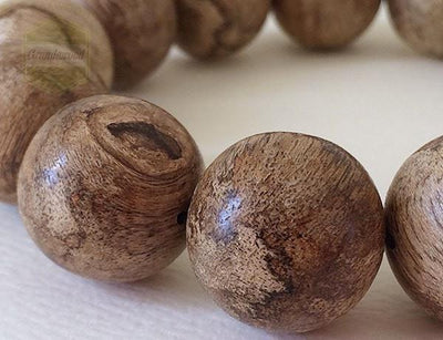 Mala beads SOLD- Indonesia Borneo Wild Agarwood Bracelet 沉香
