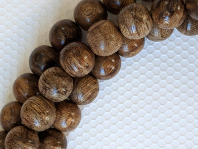 Mala beads The Marble Trilogy - Wild Borneo Agarwood 108 mala - number 1
