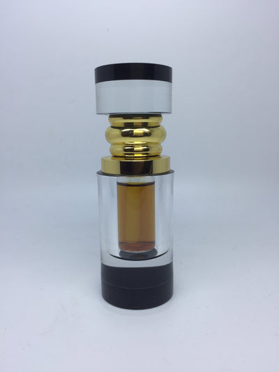 Oil 3ml Crystal Cyliner 100% Pure Agarwood Oil- Scasa Saat, Wild Cambodian Oud Oil