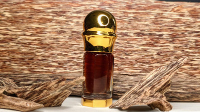 Oil 3ml Heavy-Felt Crystal Glass Bottle *New* The Warming Sun - Hydro-distilled Pure Cultivated Oud Oil