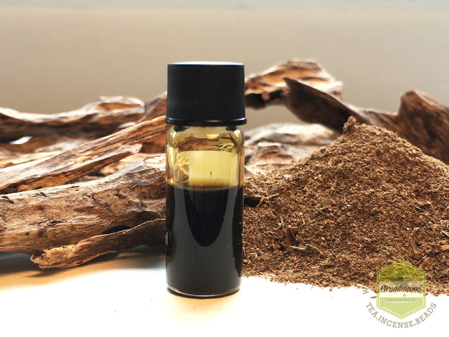 Oil Specialty 100% Pure Merauke Wild Dark Agarwood (Oud) Oil - Steam Distillation from Decent Resinous Agarwood