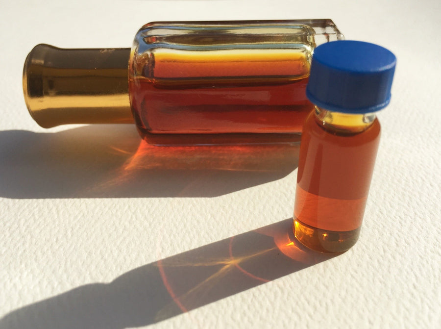 Oil The Aroma Of Incense, Sacred Oud (Agarwood) Oil-100% Pure Steam Distillation