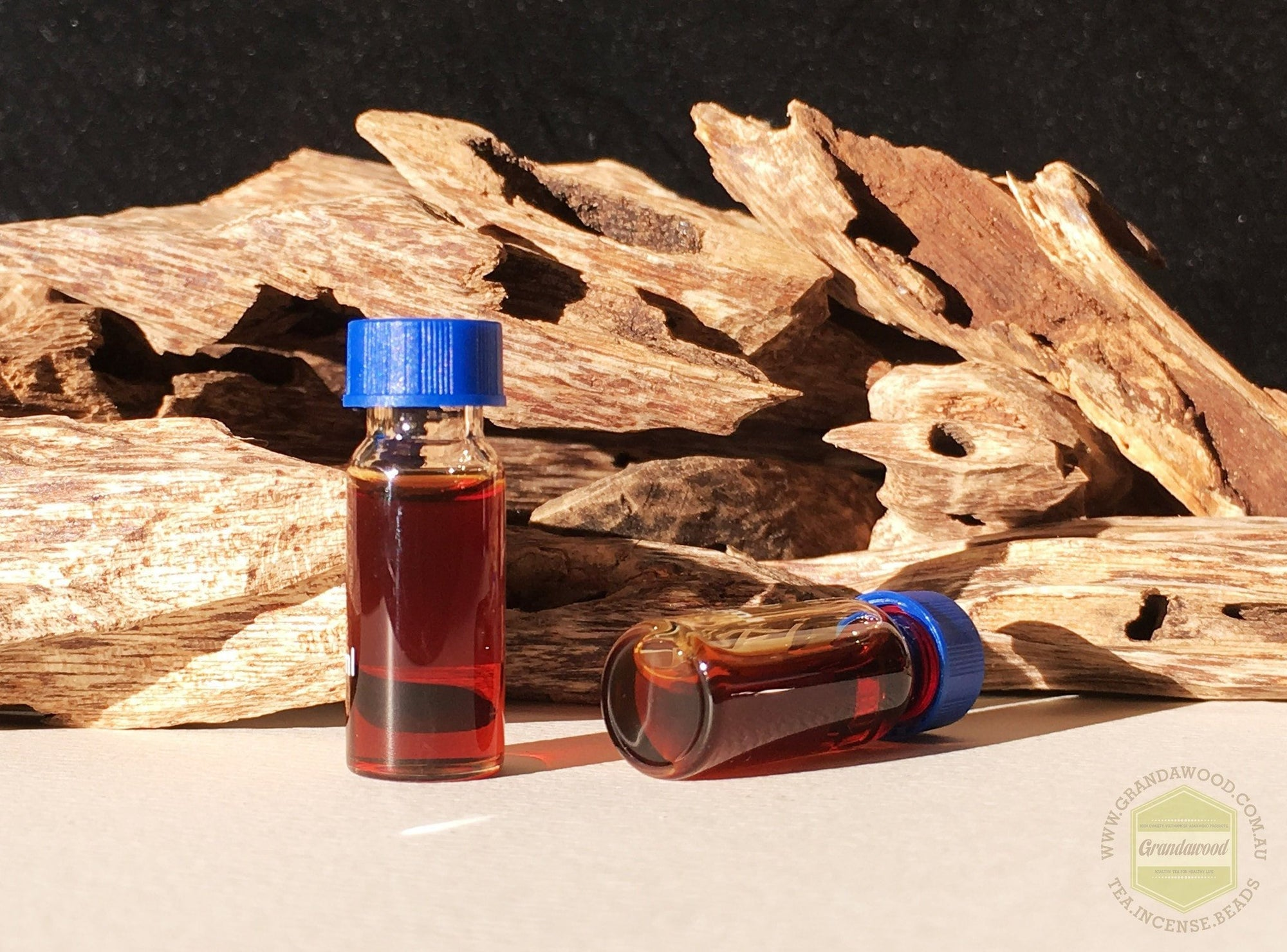Oil zz-SOLD OUT-zz-OUT OF STOCK - Scent of Enlightenment- The Crimson Flower Nectar-Wild Agarwood- Steam Distillation