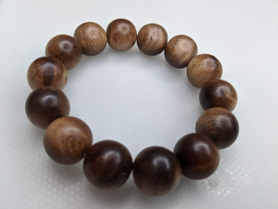 """The Beauty of the Death"" Wild Aged Sandalwood beads - Grandawood- Agarwood Australia"