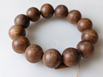 The Biggest of all time, 19mm over 31g Wild Vietnamese Agarwood Bracelet
