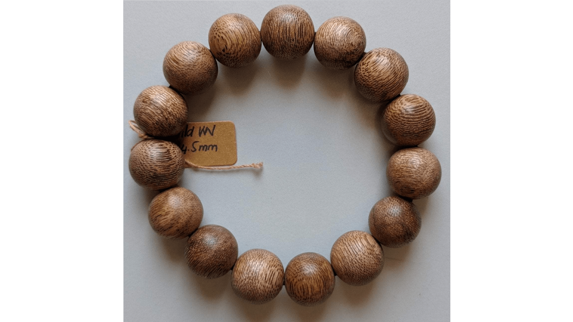 The BPB -  Vietnamese Wild Agarwood  Bracelet 14.5mm- 15g