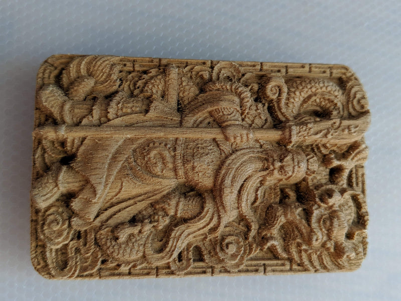 The God of War Guan Yu Agarwood Pendant / Car Hanger