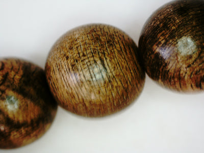 The Marble Trilogy - Wild Borneo Agarwood 108 mala - number 1