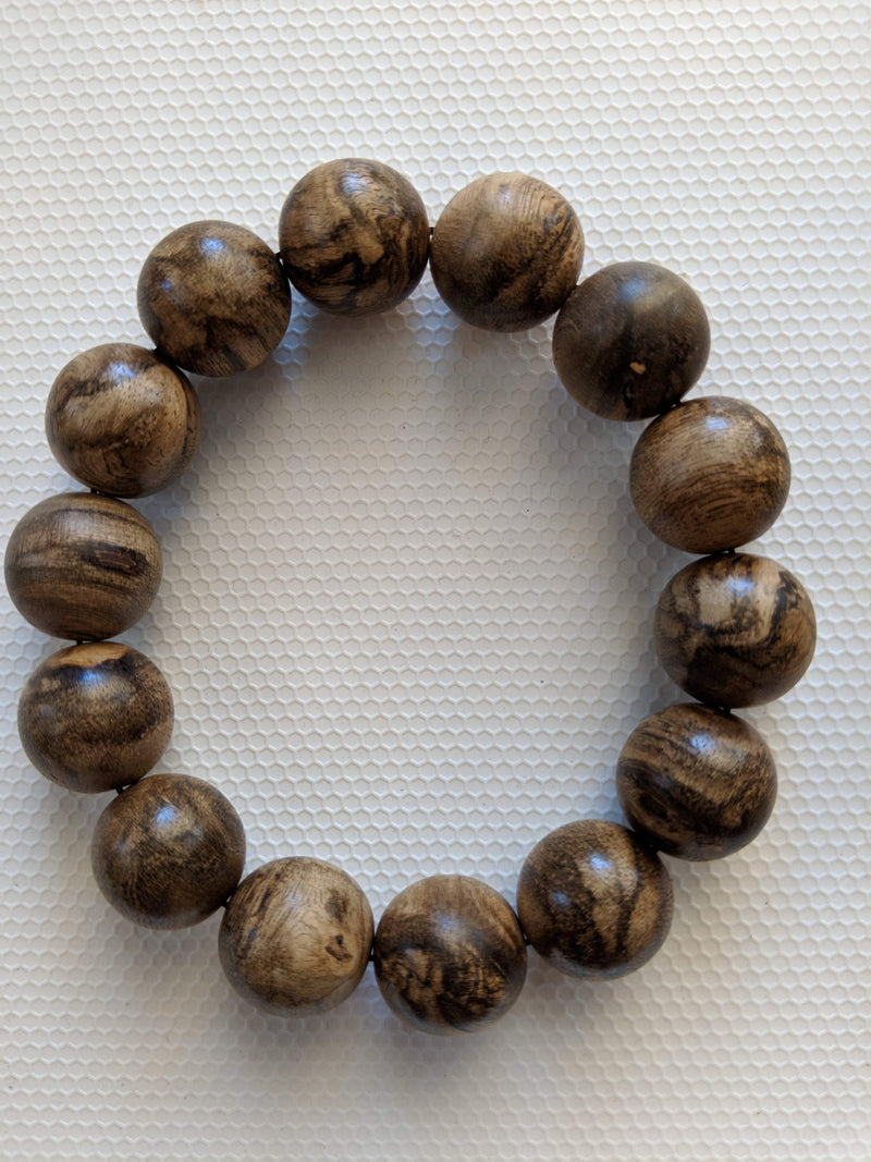 The Marble Trilogy - Wild Borneo Agarwood Bracelet - Number 2, and Number 3