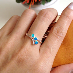 Opal Ring,Geode ring,gemstone ring,Agate ring,Stone ring,October,birthstone,opal,silver,jewelry,Agate,Stone,birthday,Delicate ring,Dainty