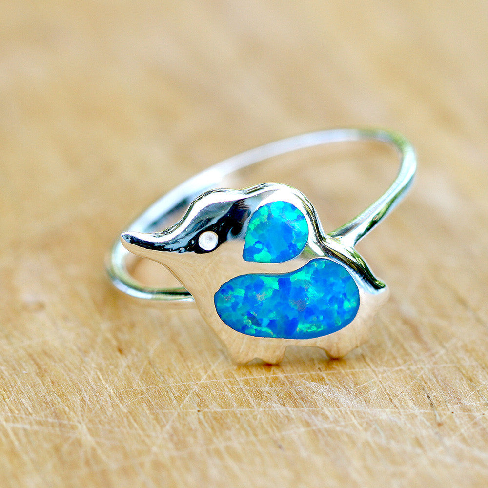 Elephant,Opal Ring,Geode ring,October,Birthstone,gemstone ring,Agate ring,delicate ring,stone,gedoe,agate,silver,opal,dainty,animal,lucky