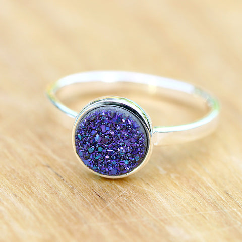 Crystal Ring,Druzy Ring,Geode Ring,Stone Ring,Cocktail Ring,Stacking ring,Drusy Ring,Stone Ring,Quartz Ring,Gemstone Ring,Stack,Geode,Druzy