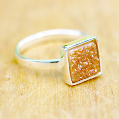 Druzy Ring,Geode Ring,Cocktail Ring,Stone Ring,Druzy,drusy,quartz,agate