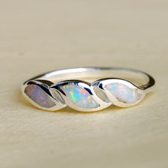 Opal Ring,Geode ring,October Birthstone,Birthstone Ring,gemstone ring,Agate ring,October,stone ring,opal,silver,agate,delicate,birthday ring
