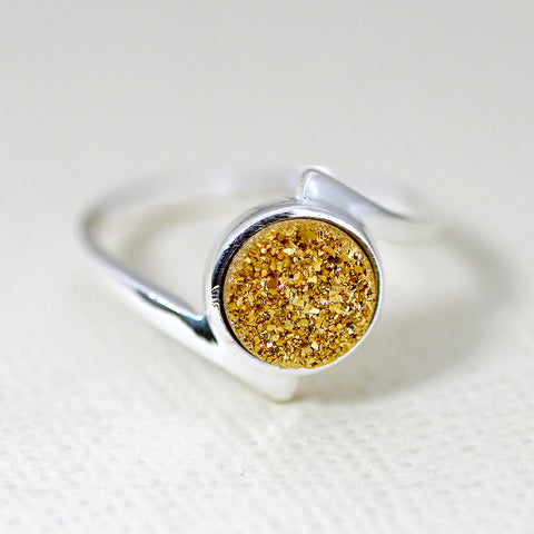 Gold,Druzy Ring,Stone Ring,Agate Ring,Gemstone Ring,Geode Ring,statement ring,Cocktail Ring,stone ring,delicate ring,drusy ring,Stone,druzy