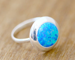 Opal Ring,Unisex Ring,Geode ring,October Birthstone,Birthstone Ring,gemstone ring,Agate ring,Unisex Ring,Gift idea,Fathers ring