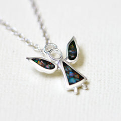 Black Opal Necklace,Opal Pendant,Geode Necklace,Gemstone Necklace,Stone Necklace,Birthstone,October,Opal jewelry,Agate Necklace,Lucky charm