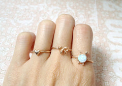 Turtle,Rose gold,Opal Ring,Geode ring,gemstone ring,Agate ring,Gemstone Ring,Opal,Jewelry,Silver,Stone,Gift idea,Birthstone ring,October,Stone ring,Delicate