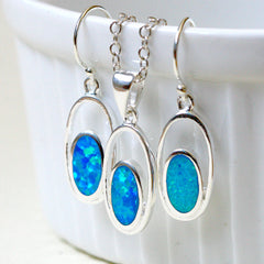 Blue Opal Earrings,Drop earrings,Geode Earrings,Gemstone Earrings,Bridesmaid Earrings,Opal jewelry,Anniversary gifts,Birthday gifts,birthstone