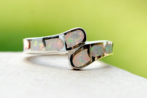 0027_OPRW,Opal Ring,Birthstone ring,Stone Ring,October birthstone,statement ring,agate ring,Gemstone ring,geode ring,unisex ring,Summer,trending