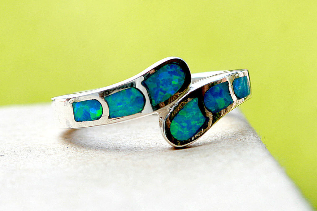 0052_OPRB,Opal Ring,October birthstone,Birthstone ring,Geode ring,gemstone ring,Agate ring,Mothers day gift,Mom ring,Mother jewelry,Woman ring