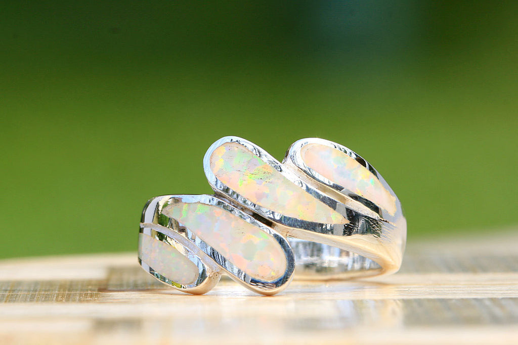Opal Ring,October Birthstone,Birthstone Ring,Agate Ring,Gemstone Ring,Geode Ring,mother ring,mom jewelry,woman gift,girl gift,stone ring