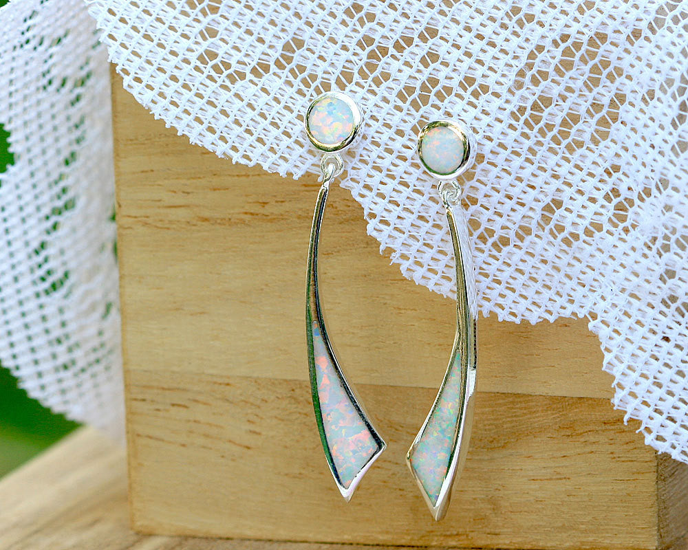 Opal Earrings,Geode Earrings,Gemstone Earrings,Agate Earrings,October Birthday,Mom jewelry,Silver earrings,Opal,silver,stone earrings,xmas,