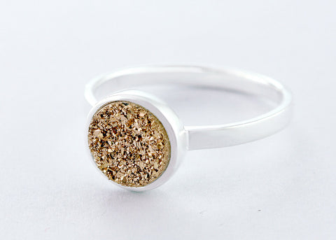 Druzy Ring,Quartz Ring,Agate Ring,Gemstone Ring,Geode Ring,statement ring,Cocktail Ring,drusy ring,Stone ring,Stacking,Quartz,druzy,delicate