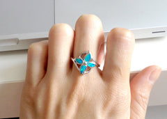 Opal Ring,Geode ring,gemstone ring,Agate ring,Gemstone Ring,Opal,Jewelry